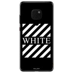 Husa Blach White Stripes Huawei Mate 20