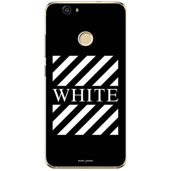 Husa Blach White Stripes Huawei Nova