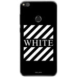 Husa Blach White Stripes Huawei P8 Lite 2017