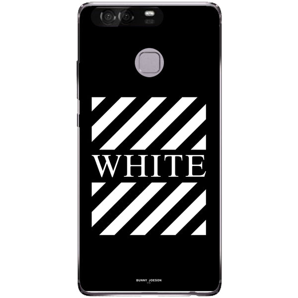 Husa Blach White Stripes Huawei P9
