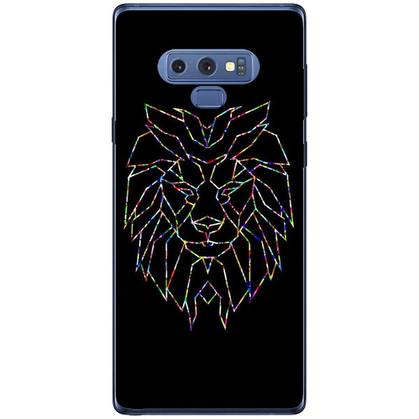 Husa Colorful Polygon Lion Samsung Galaxy Note 9