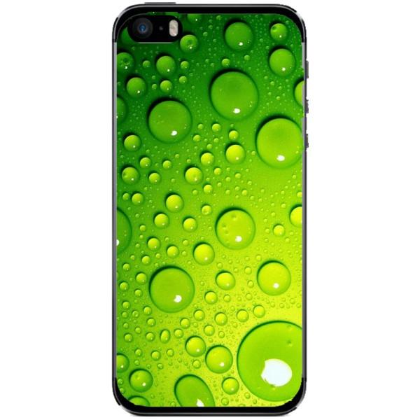 Husa Green Water Drops Iphone 5s