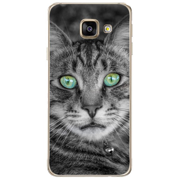 Husa Greeneyed Cat Face Samsung Galaxy A3 2016
