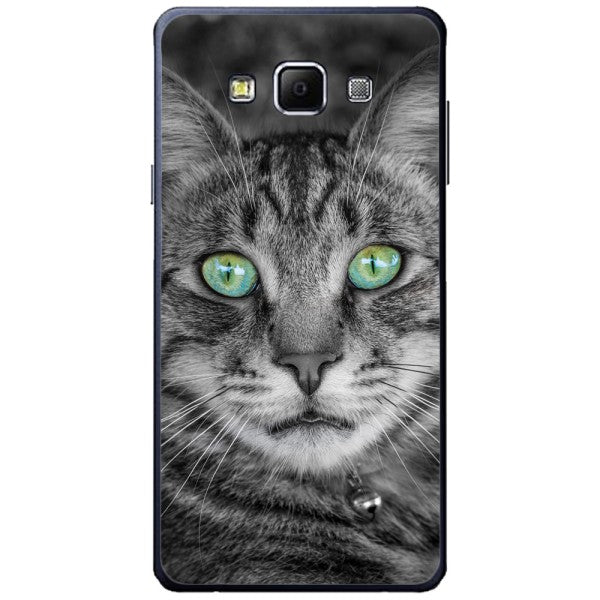 Husa Greeneyed Cat Face Samsung Galaxy A7