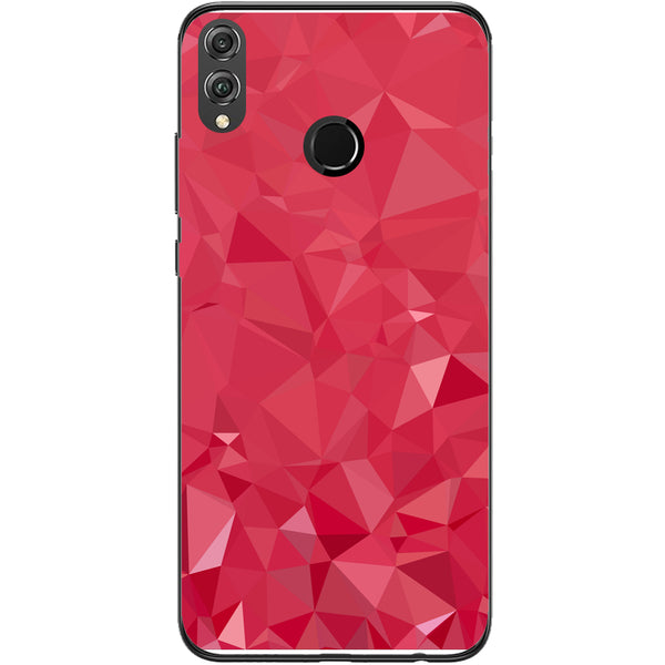 Husa Polygon geometric triangles Huawei Honor 8x