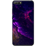 Husa Purple Galaxy Huawei Y6 2018