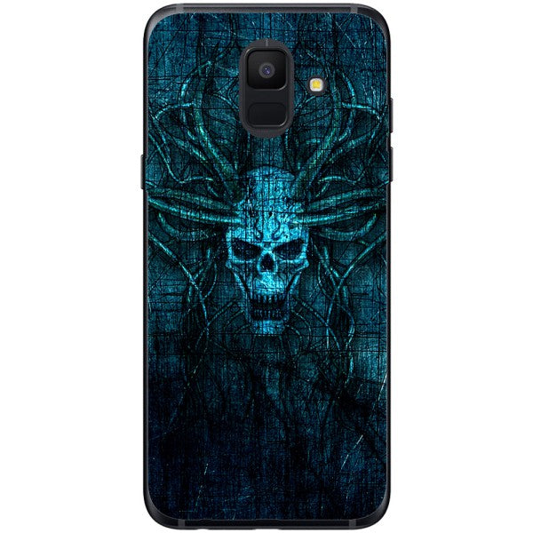 Husa Skull horns scratches Samsung Galaxy A6 2018