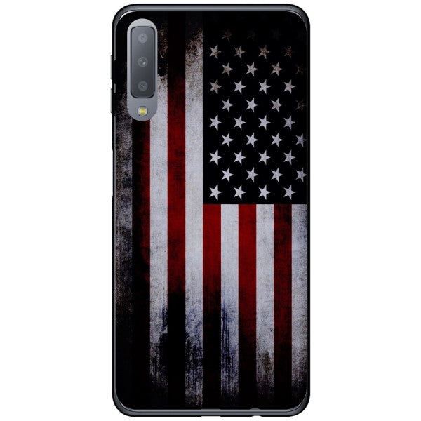 Husa USA Flag Samsung Galaxy A7 2018