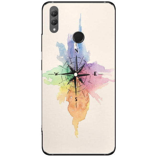 Husa Watercolor Compass Huawei Note 10