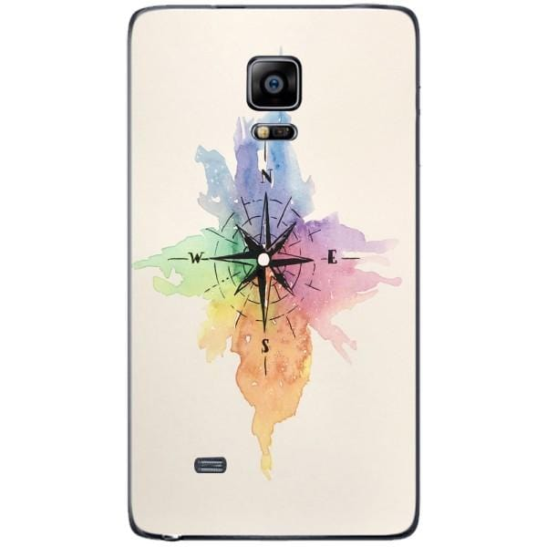 Husa Watercolor Compass Samsung Galaxy Note 4 EDGE