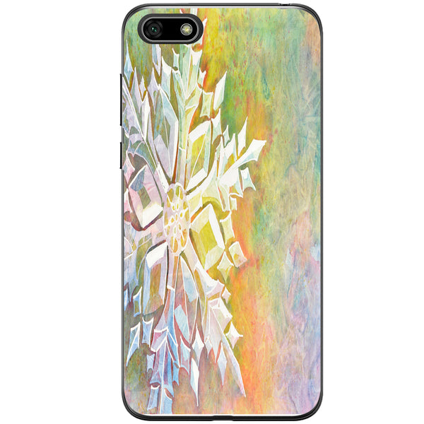 Husa Watercolor Snowflake Huawei Y5 2018