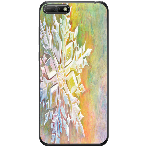 Husa Watercolor Snowflake Huawei Y6 2018