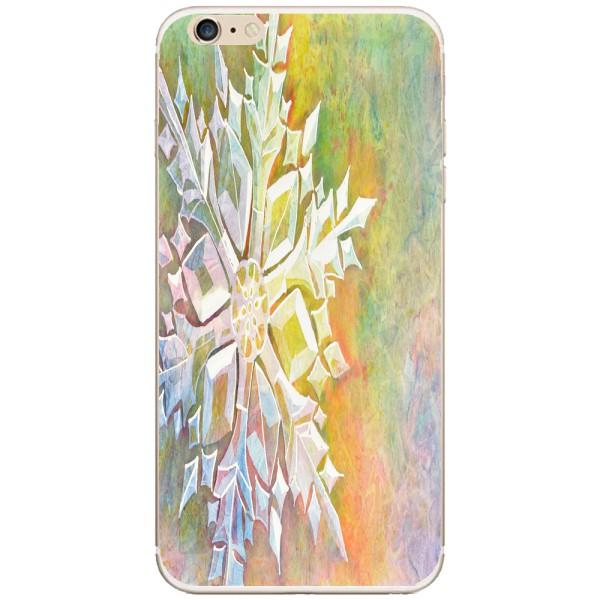 Husa Watercolor Snowflake Iphone 6 Plus