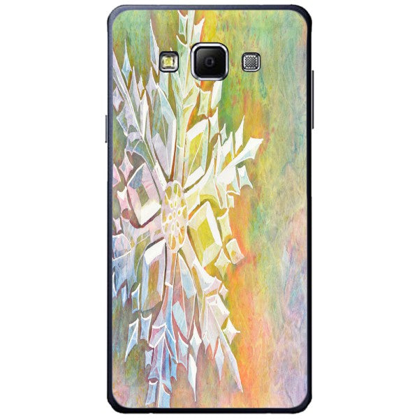 Husa Watercolor Snowflake Samsung Galaxy A7