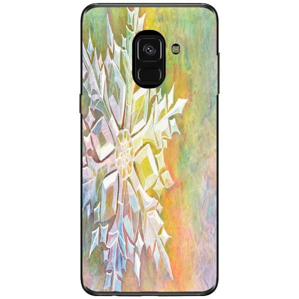 Husa Watercolor Snowflake Samsung Galaxy A8 2018 Plus