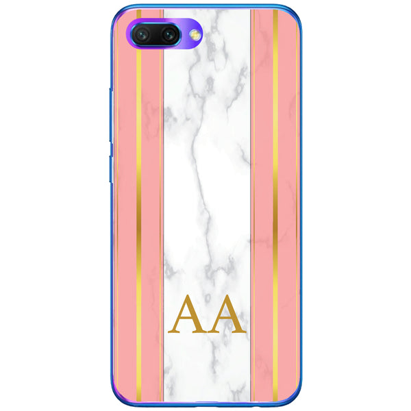 Husa Whine and Pink Marble AA Huawei Honor 10