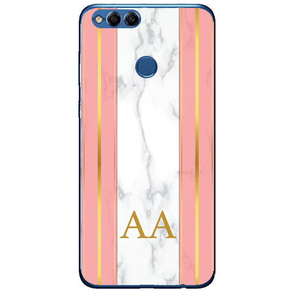 Husa Whine and Pink Marble AA Huawei Honor 7x