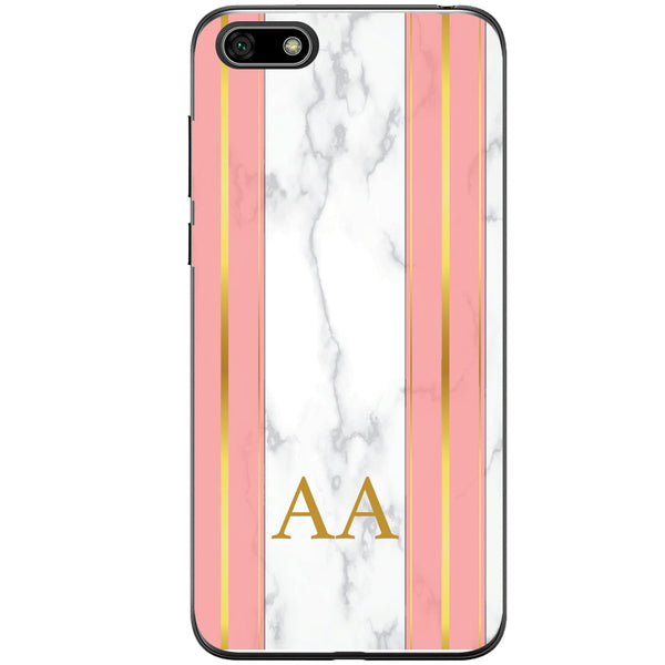 Husa Whine and Pink Marble AA Huawei Y5 2018