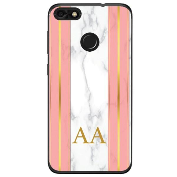 Husa Whine and Pink Marble AA Huawei Y6 Pro 2017