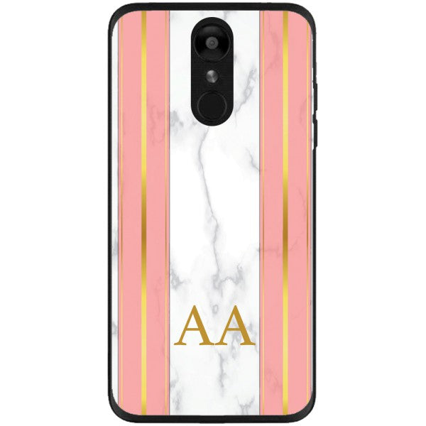 Husa Whine and Pink Marble AA LG K8 2018