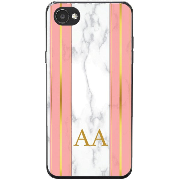 Husa Whine and Pink Marble AA LG Q6