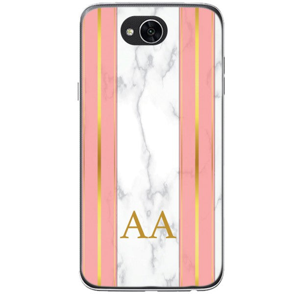 Husa Whine and Pink Marble AA LG X Power 2