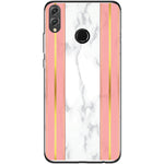 Husa White Marble with pink lines Huawei Honor 8x