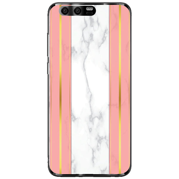 Husa White Marble with pink lines Huawei Honor 9