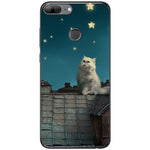 Husa White Persian Cat Huawei Honor 9 Lite