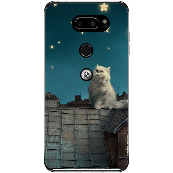 Husa White Persian Cat LG V30