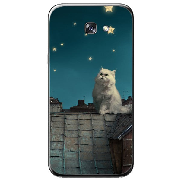 Husa White Persian Cat Samsung Galaxy A7 2016