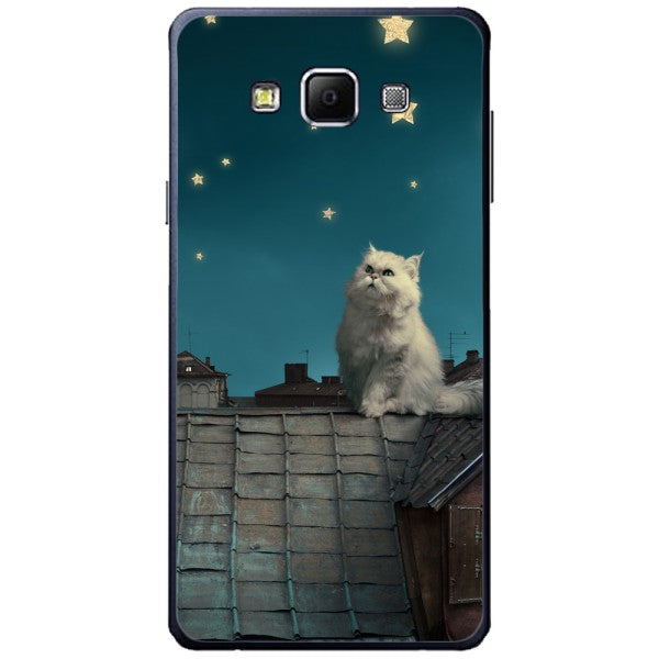 Husa White Persian Cat Samsung Galaxy A7
