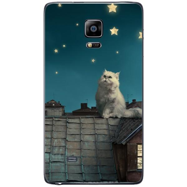 Husa White Persian Cat Samsung Galaxy Note 4 EDGE