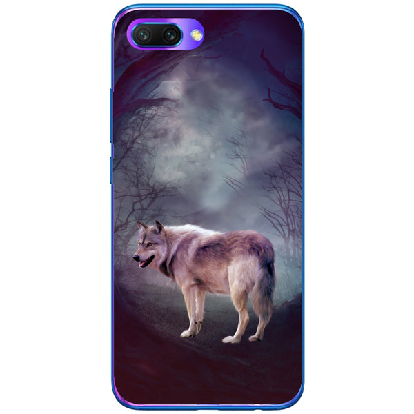 Husa Wolf art forest Huawei Honor 10