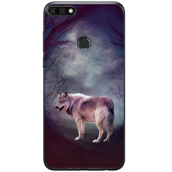 Husa Wolf art forest Huawei Honor 7c