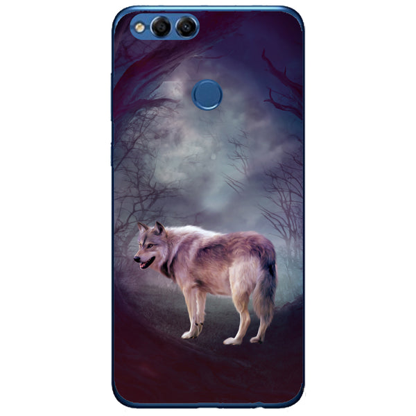 Husa Wolf art forest Huawei Honor 7x