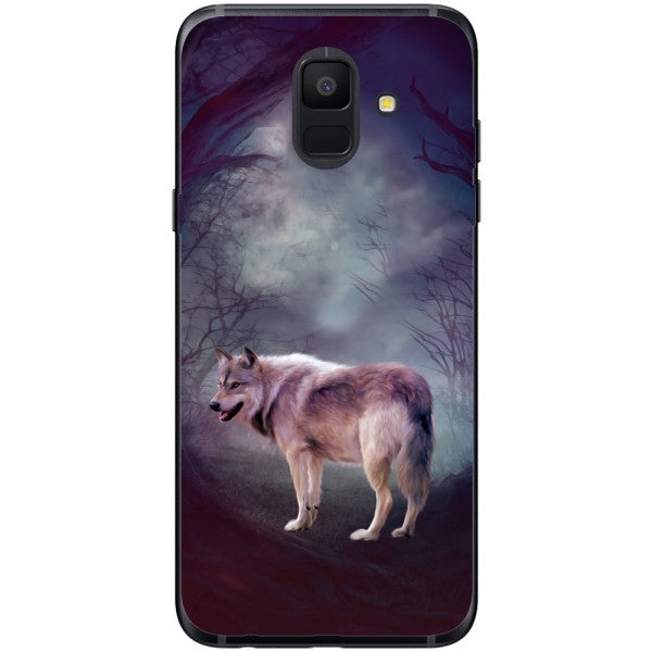 Husa Wolf art forest Samsung Galaxy A6 2018