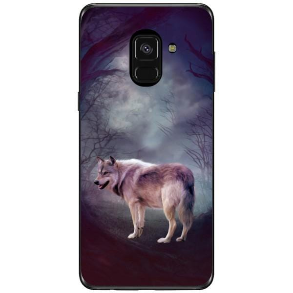 Husa Wolf art forest Samsung Galaxy A8 2018 Plus