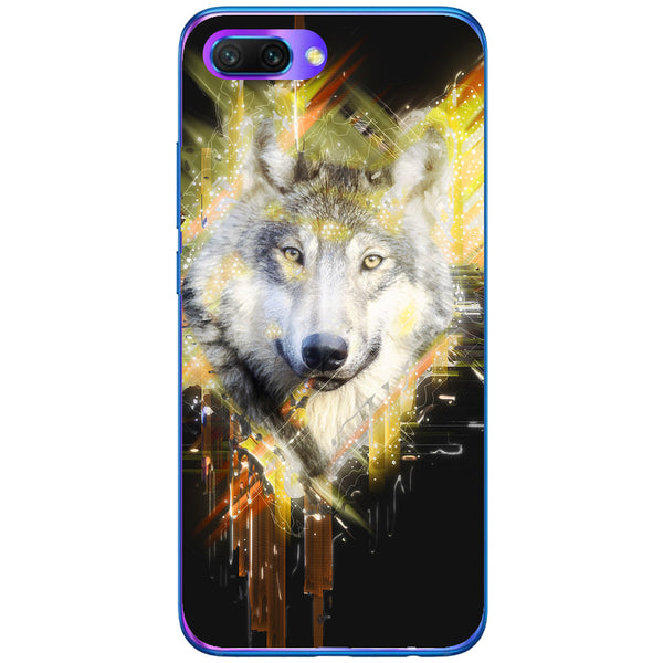Husa Wolf muzzle art Huawei Honor 10