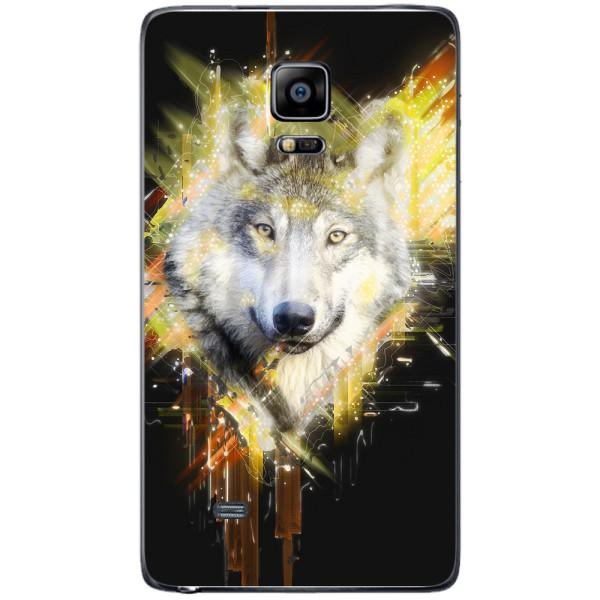 Husa Wolf muzzle art Samsung Galaxy Note 4 EDGE