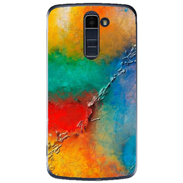 Husa Yellow Red Shadows LG K10