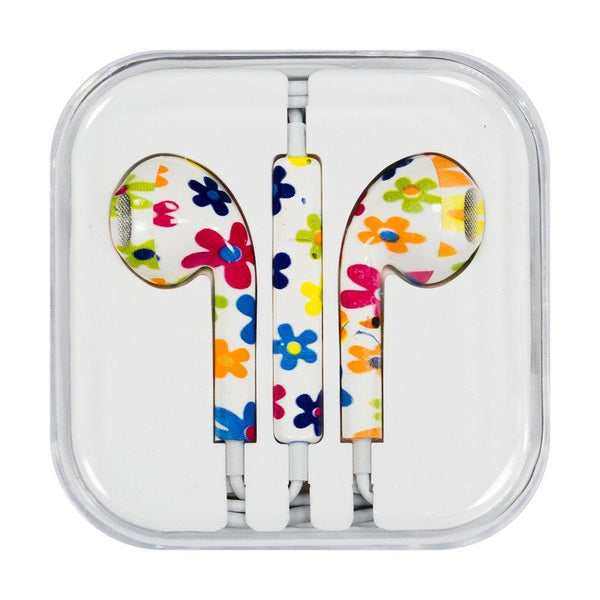 Casti Cu Microfon Iphone Ipad Ipod Flowers (Model 11) Guardo