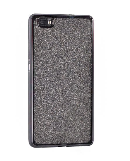 HUSA GLITTER NOKIA 7 PLUS, BLACK