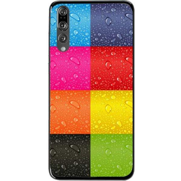Husa Colorful Squares Huawei P20 Pro Guardo.shop