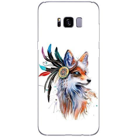Husa Fox art Samsung Galaxy S8 Plus Guardo.shop