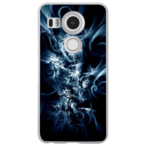 Husă Fractal Light Darck Blue LG Nexus 5x Guardo.shop