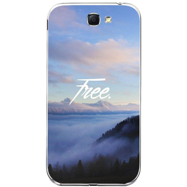 Husă Free-forest View Background SAMSUNG Galaxy Note 2 Guardo.shop