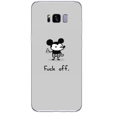 Husa Fuck off mickey Samsung Galaxy S8 Guardo.shop