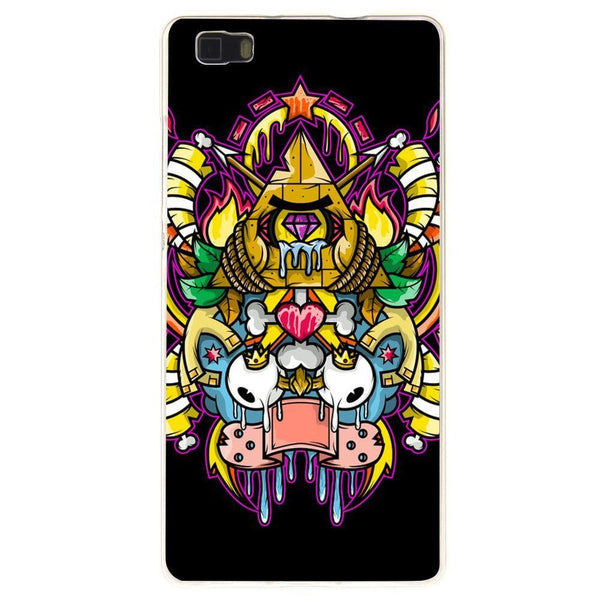 Husă Funky Pyramid Design HUAWEI P8 Lite 2017 Guardo.shop
