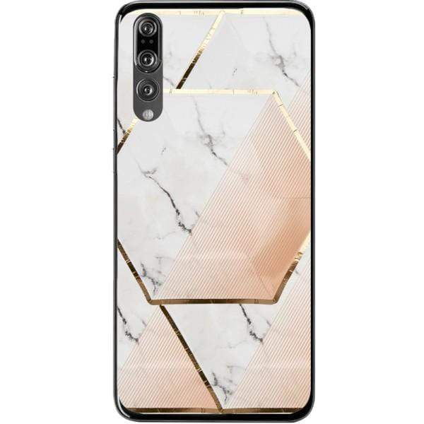 Husa Gemetric Marble Huawei P20 Pro Guardo.shop